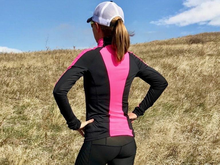 Kari TraaKristin Long-Sleeved Quarter-Zip Top back