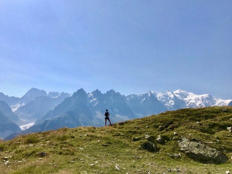 Aliza Lapierre - Chamonix scenery
