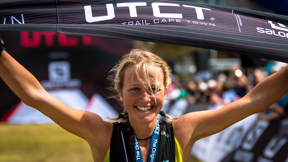 Lucy Bartholomew - 2017 Ultra-Trail Cape Town champion
