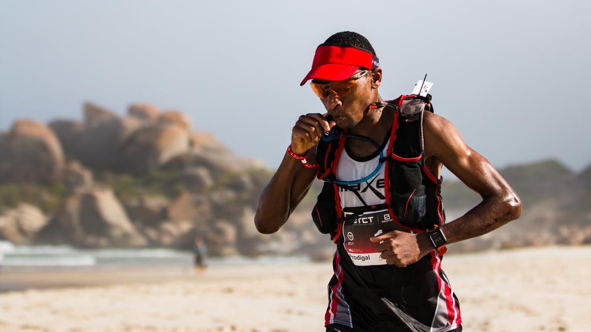 Prodigal Kumalo - 2017 Ultra-Trail Cape Town champion.