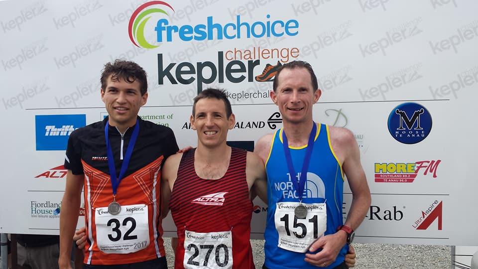 2017 Kepler Challenge men's podium