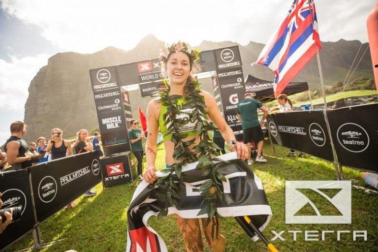 Dani Moreno - XTERRA Trail Run World Championship winner