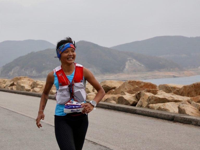 Mira Rai - 2018 Vibram Hong Kong 100k second place