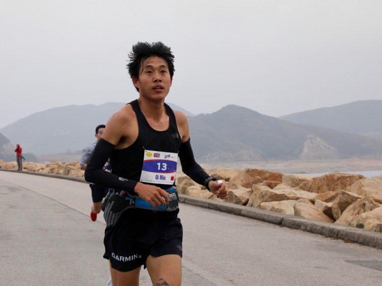 Min Qi - 2018 Vibram Hong Kong 100k champion