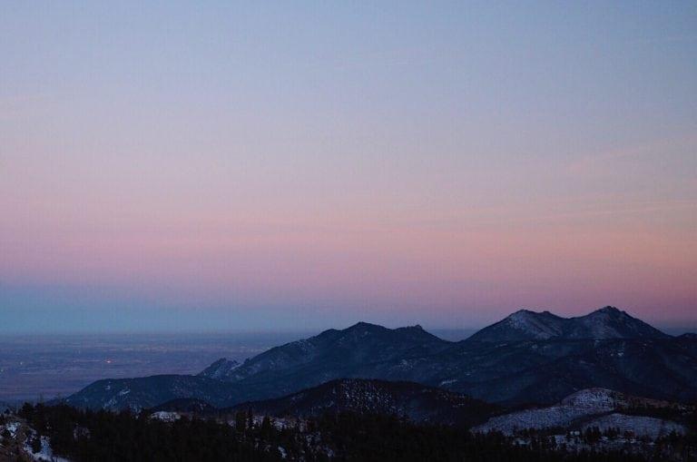 Joe Grant - Winter Sunset