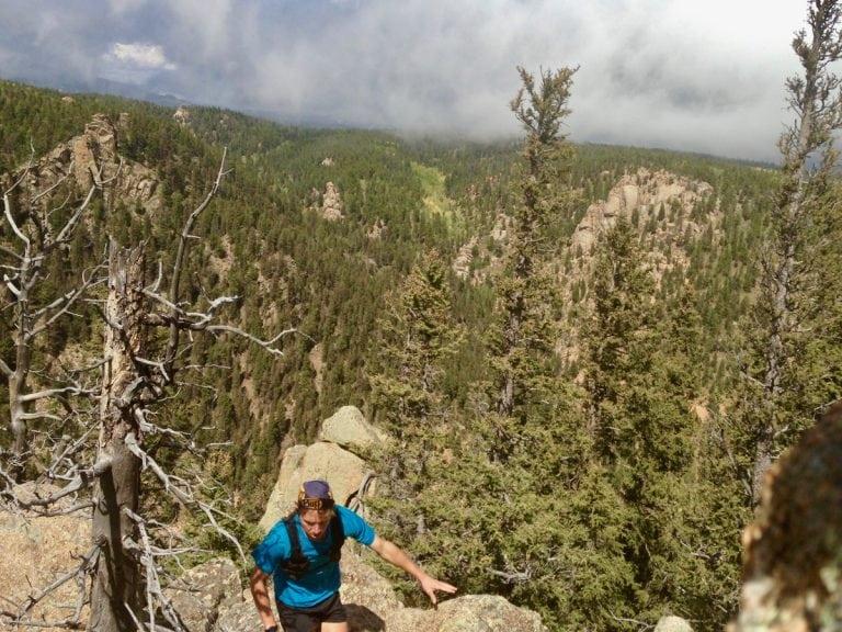 Zach Miller on Palsgrove Mountain