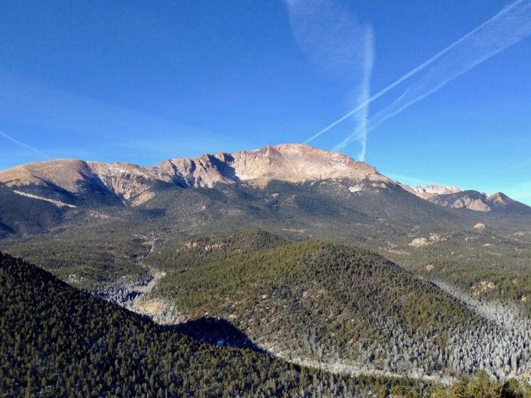 Pikes Peak and Marys Mountain