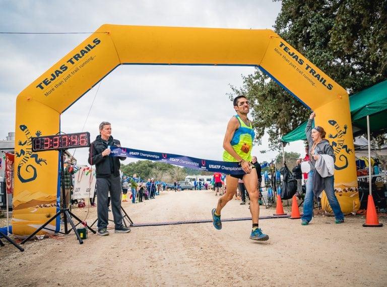 Mario Mendoza - 2018 Bandera 100k winner