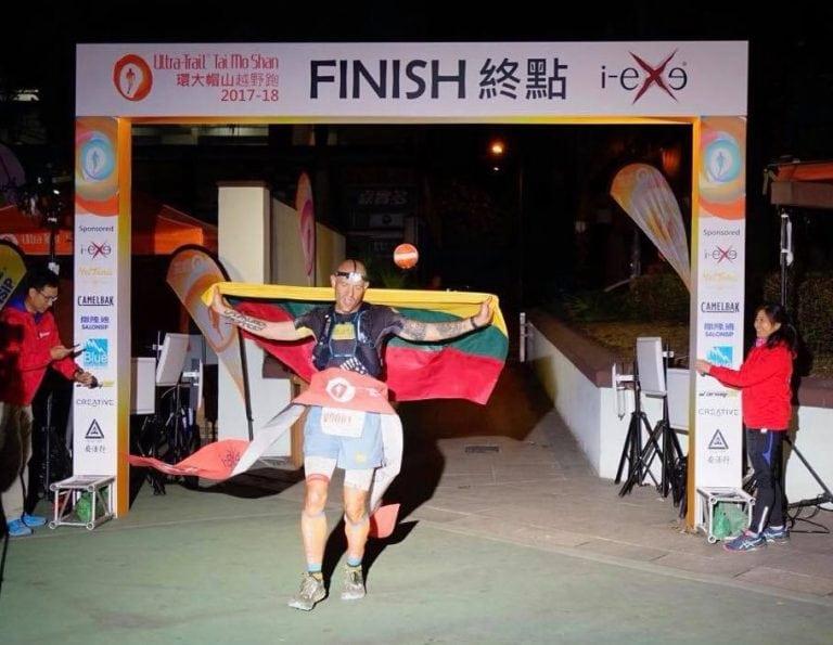 Gediminas Grinius - 2017 Ultra Trail Tai Mo Shan champion