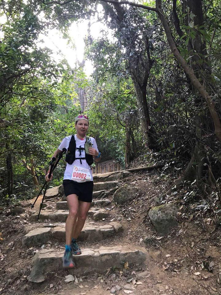 Andrea Huser - 2017 Ultra Trail Tai Mo Shan champion