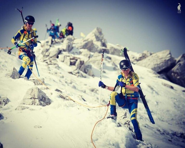 Ida Nilsson skiing 2
