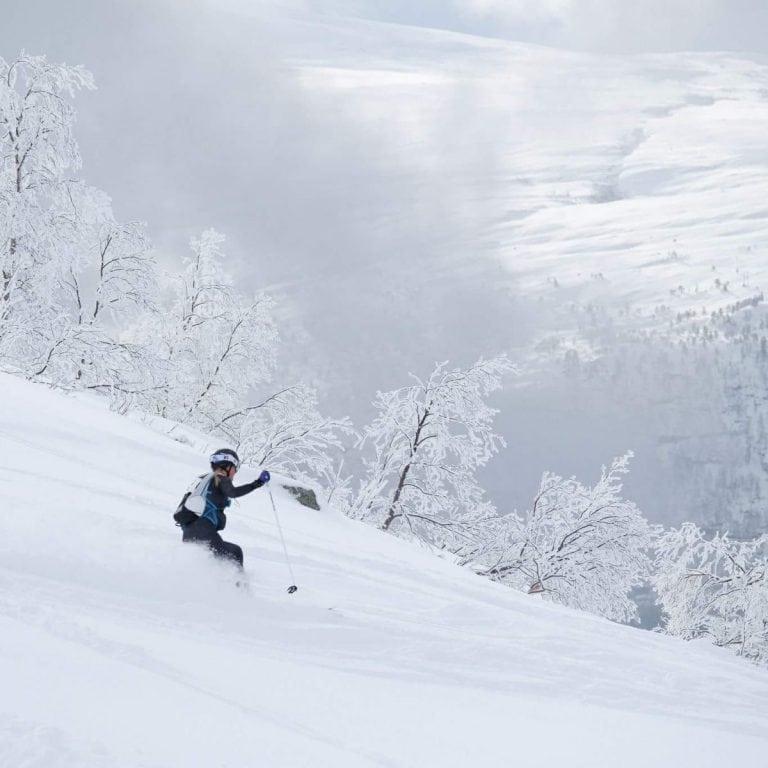 Ida Nilsson skiing 3