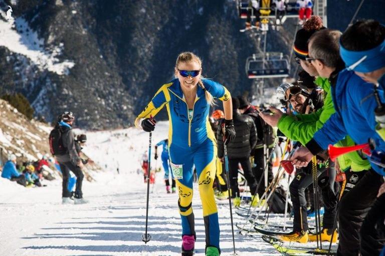 Ida Nilsson skiing 1