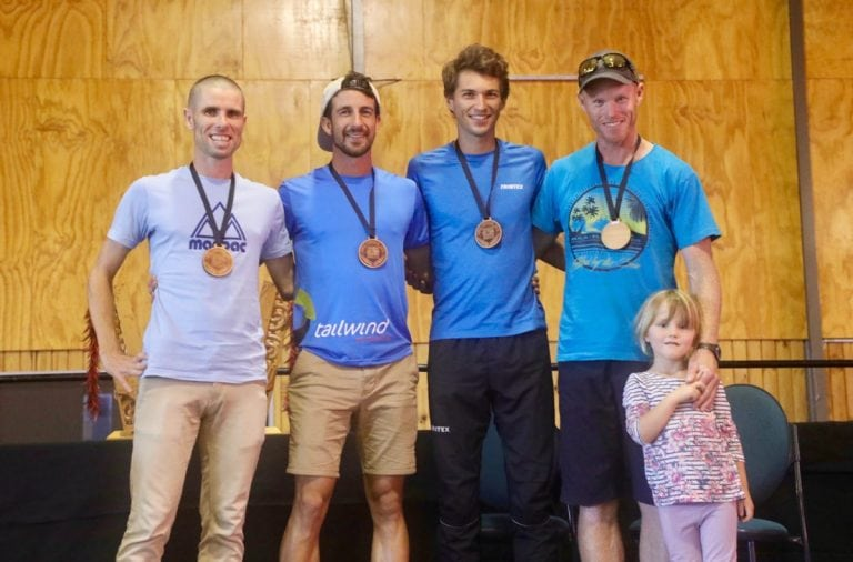 2018 Tarawera Ultra marathon 62k mens podium