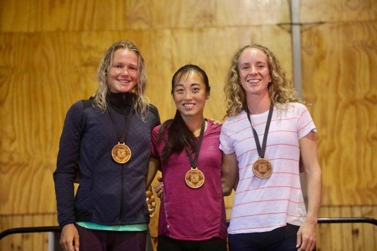 2018 Tarawera Ultra marathon 62k womens podium