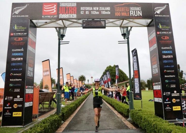 Amanda Basham - 2018 Tarawera Ultramarathon second place