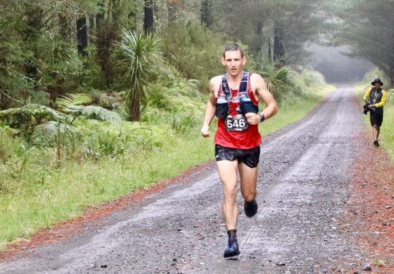 Sam McCutcheon - 2018 Tarawera Ultramarathon third place