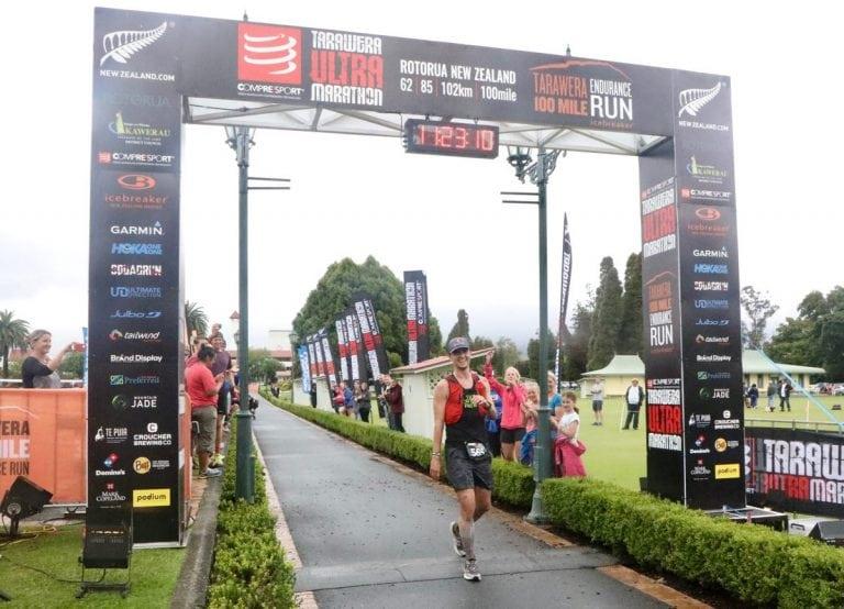 Dylan Bowman - 2018 Tarawera Ultramarathon champion