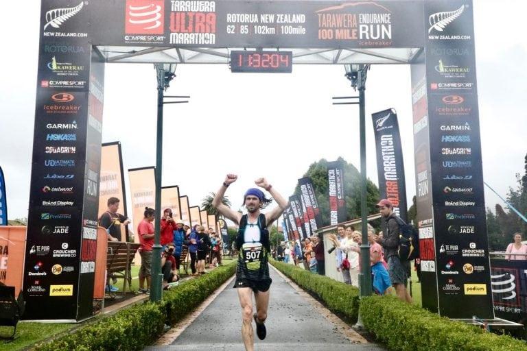 Cody Reed - 2018 Tarawera Ultramarathon second place