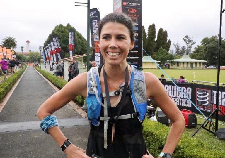 Erika Lori - 2018 Tarawera Ultramarathon third place