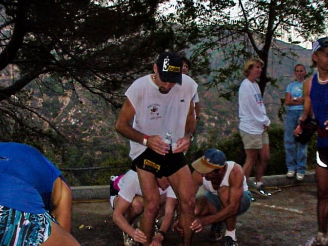Tom Nielsen - 1999 Angeles Crest 100 - mile 75