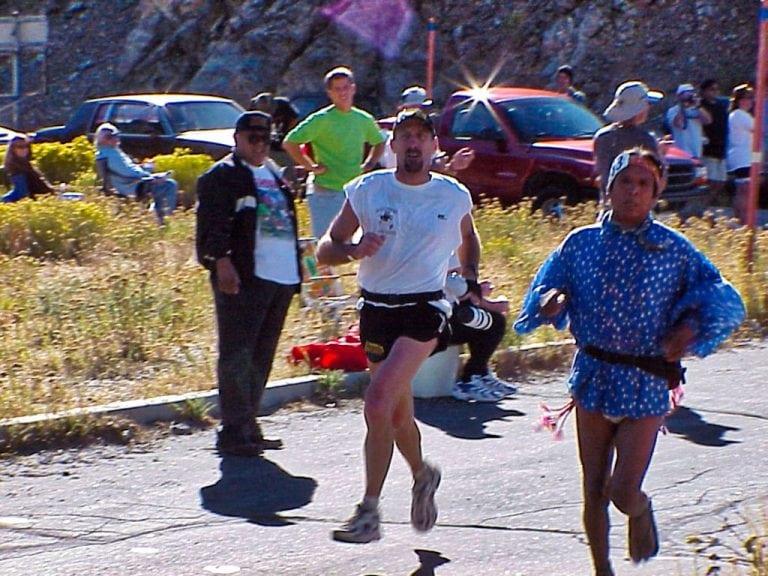 Tom Nielsen - Tarahumara - 1999 Angeles Crest 100 - mile 26