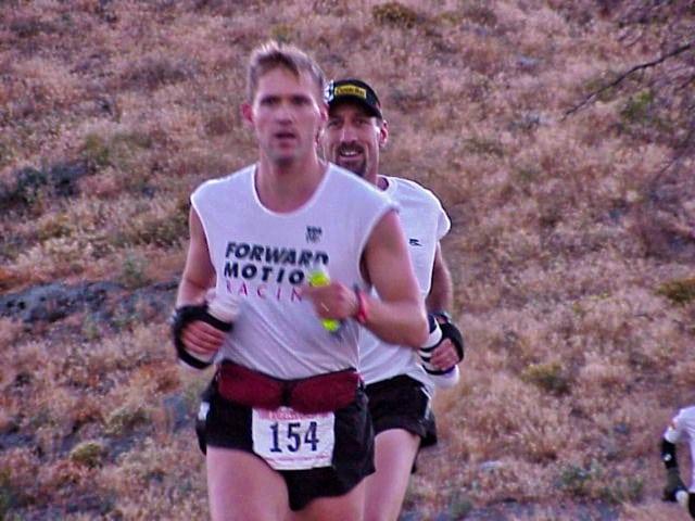 Tom Nielsen - Kevin Sawchuck - 1999 Angeles Crest 100 - mile 9