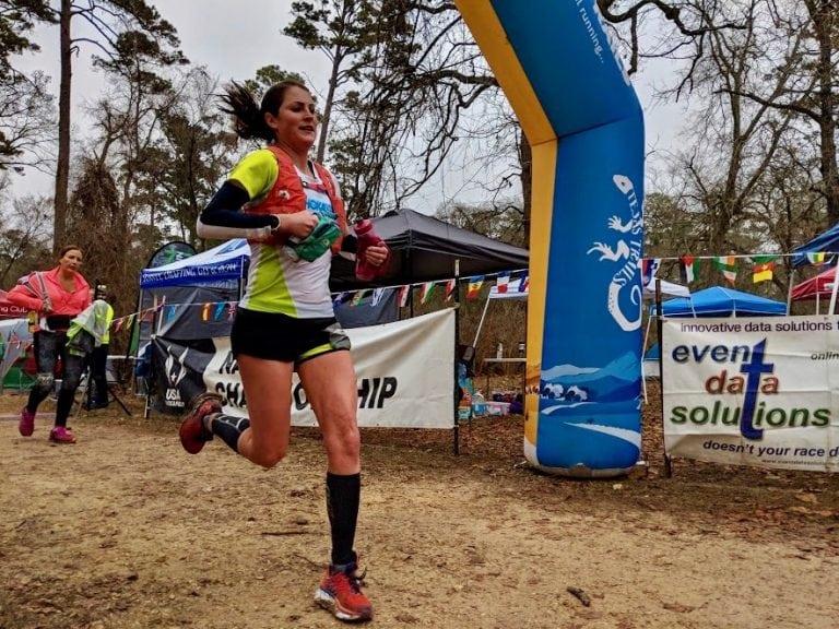 Sabrina Little - 2018 Rocky Raccoon 100 Mile champion