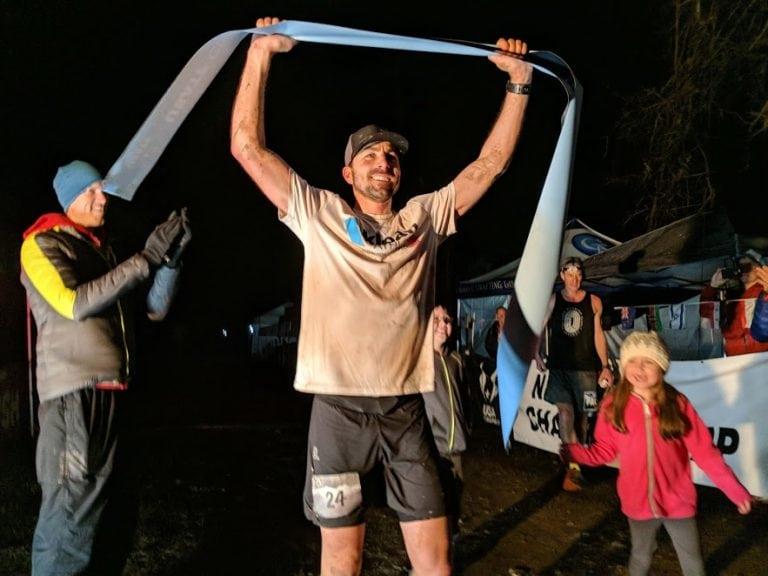 Ronnie Delzer - 2018 Rocky Raccoon 100 Mile champion