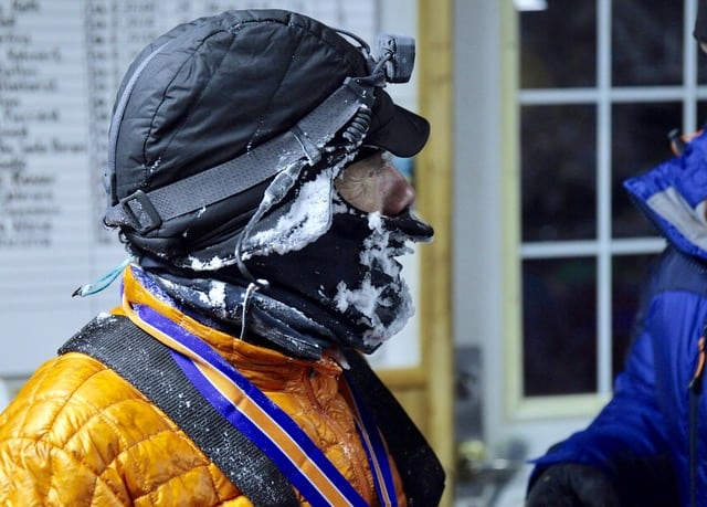 Emanuele Gallo - 2018 Yukon Arctic Ultra 100-mile champion