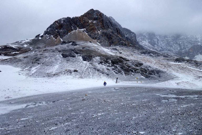 Yading Nature Reserve - cold pass