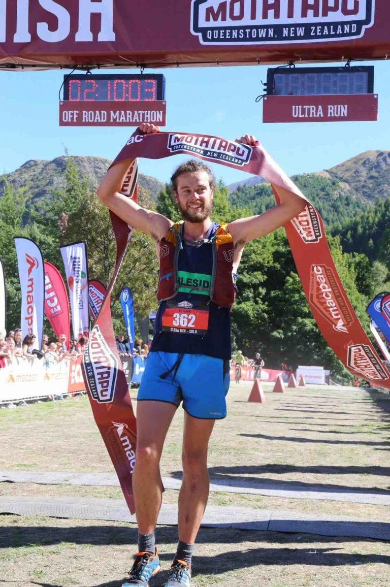 Joe Mann - 2018 Motatapu champion
