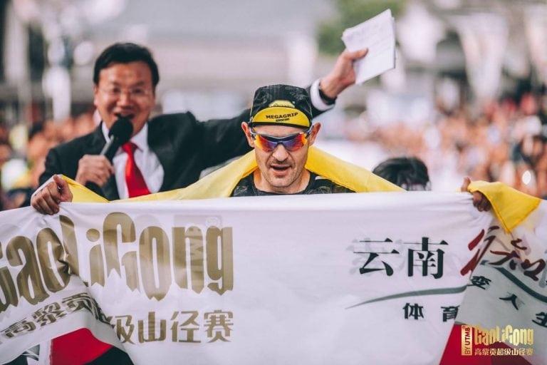Gediminas Grinius - 2018 Mt Gaoligong Ultra champion