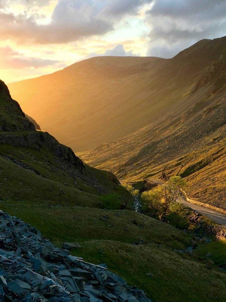 photo 7 - Honister Pass sunset