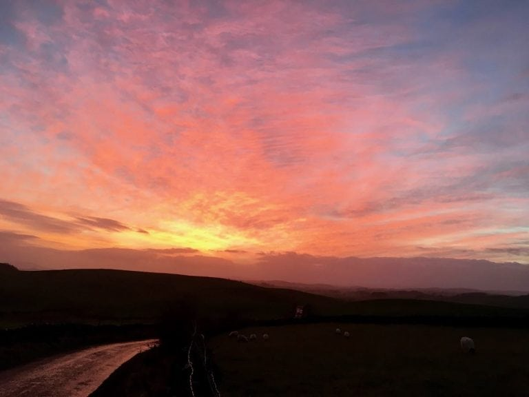photo 1 - Winterburn sky