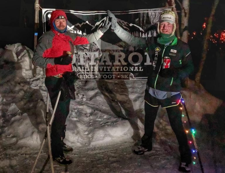 Gavin Woody and Dave Johnston - 2018 Iditarod Trail Invitational 350-mile champions