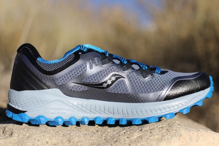 Saucony Peregrine 8 medial view