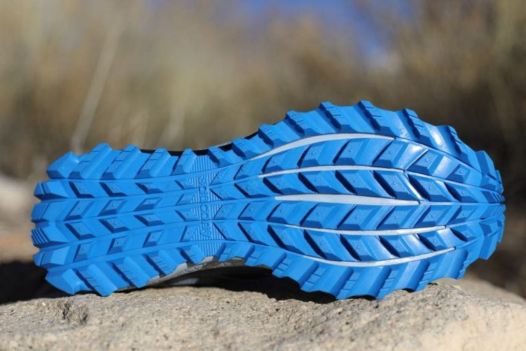 Saucony Peregrine 8 outsole