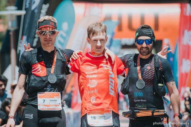 2018 Madeira Island Ultra-Trail men's podium