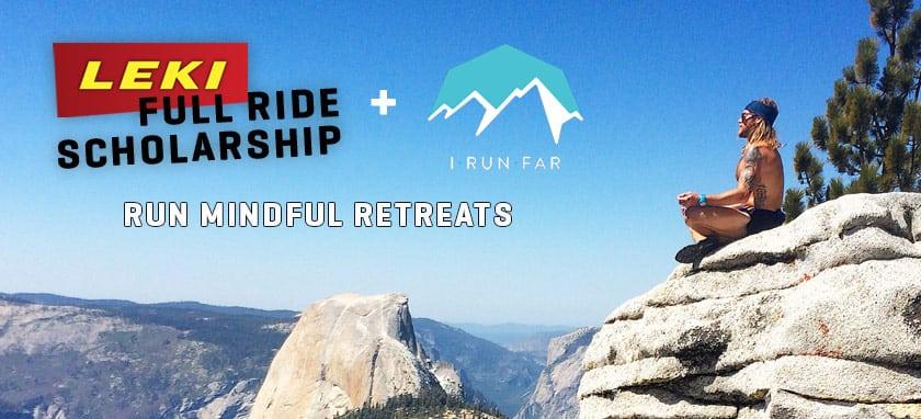 LEKI Run Mindful Retreat Scholarship
