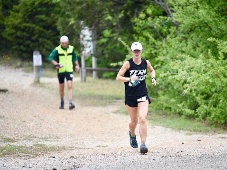 Shandra Moore - 2018 Coyote Trail Run 50 Mile champion