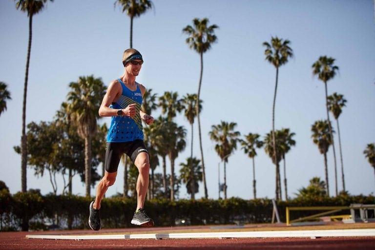 Tyler Andrews - 2018 50k track world record