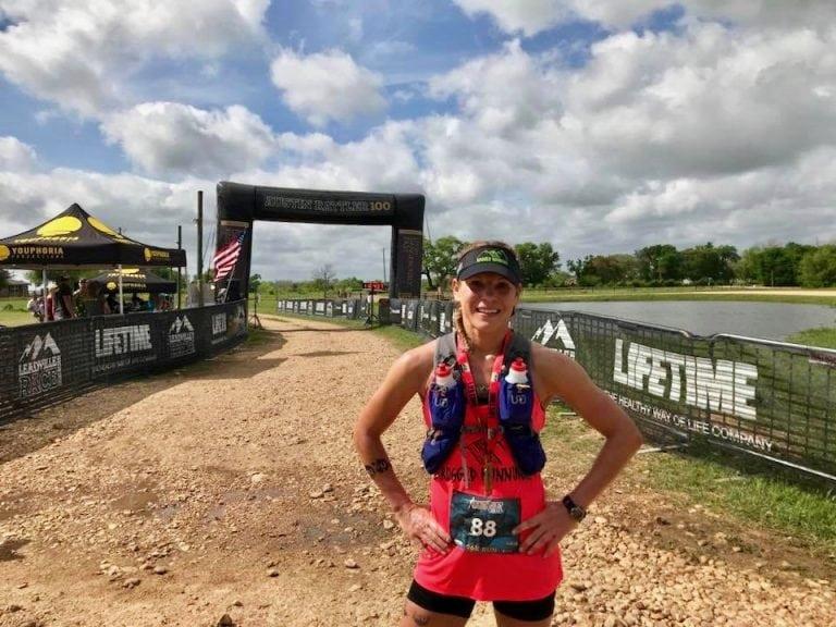 Michelle Yates - Austin Rattler Run 66k champion
