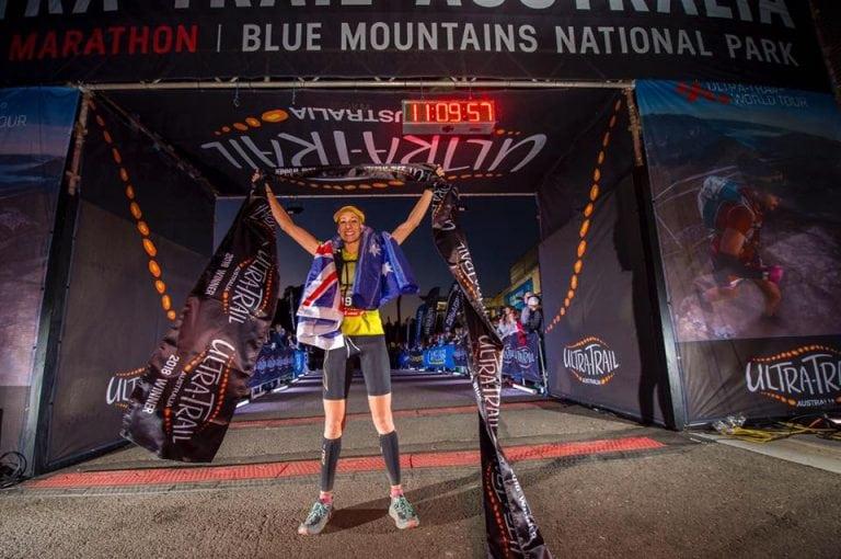 Kellie Emmerson - 2018 Ultra-Trail Australia champion