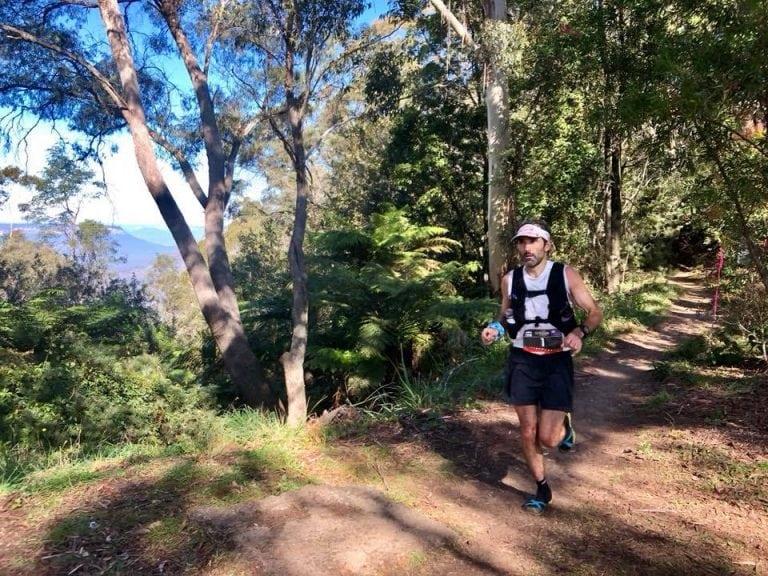 Brendan Davies - 2018 Ultra-Trail Australia champion