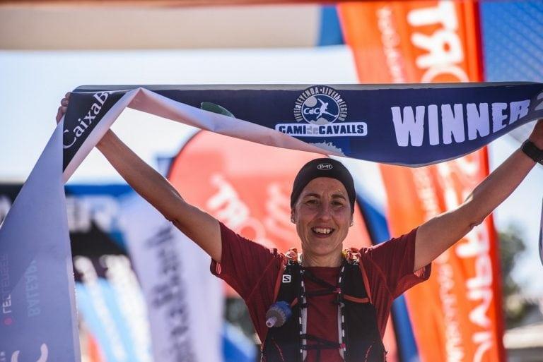 Tina Ameller - 2018 Trail Menorca Camí de Cavalls 185k champion