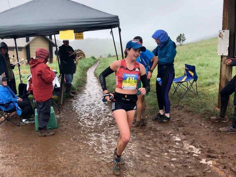 Abby Levene - 2018 Quad Rock 25 Mile champion
