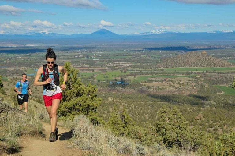 Maria Dalzot - 2018 Smith Rock Ascent 50k champion