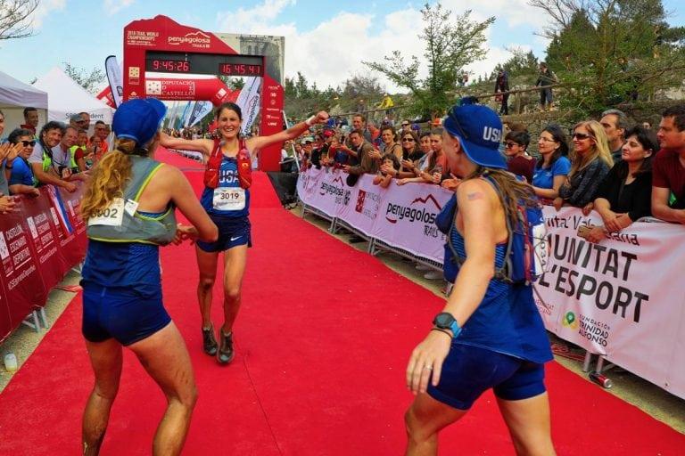 2018 Trail World Championships - USA Woman - Clare Gallagher - Sabrina Little - Kaytlyn Gerbin