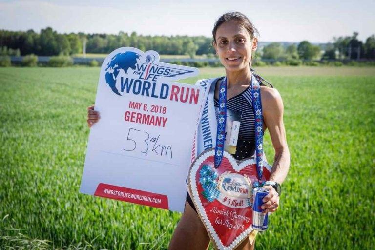 Vera Nunes - 2018 Wings for Life World Run champion